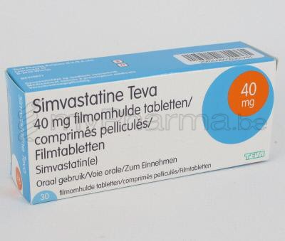 simvastatine 20 mg