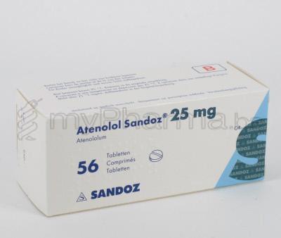 Atenolol 25 Mg Zydus
